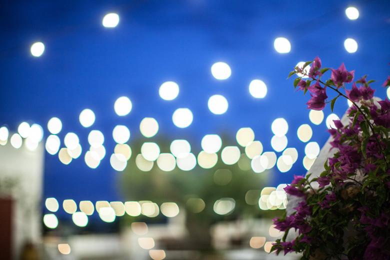 Le luci della Masseria Torre Coccaro