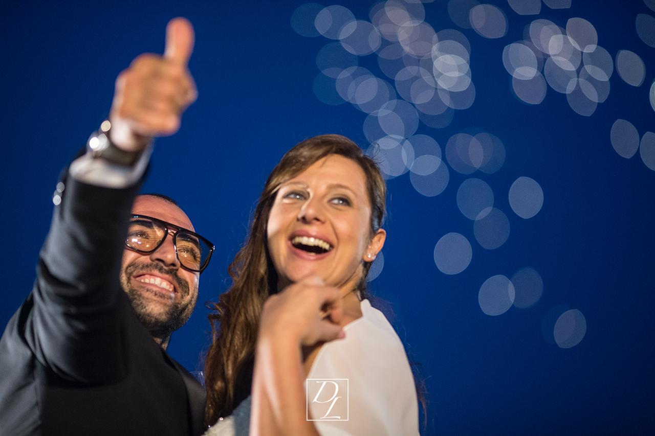 sposi e fuochi d'artificio domenico longano
