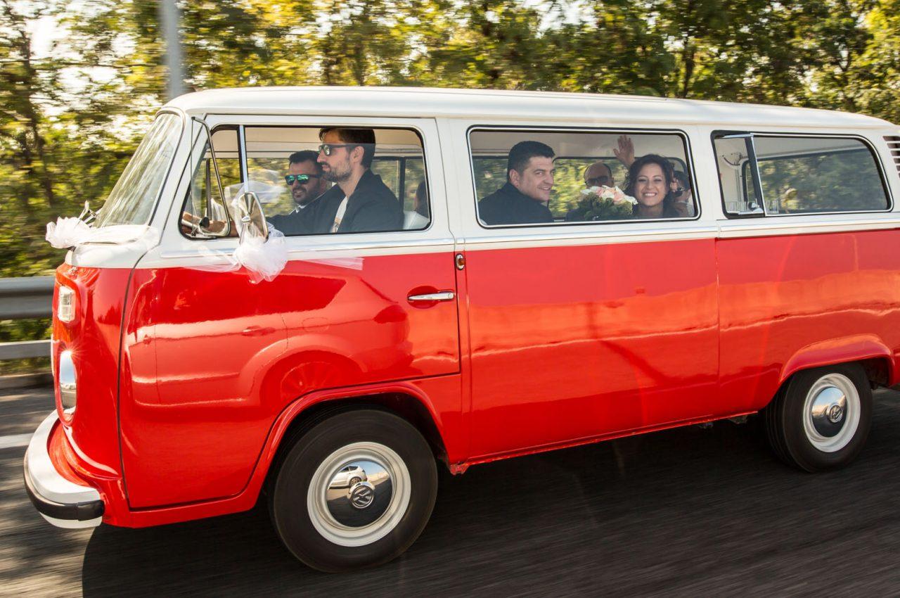 furgone sposi
